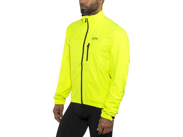 GORE WEAR C3 Gore-Tex Active Jacket Men neon yellow